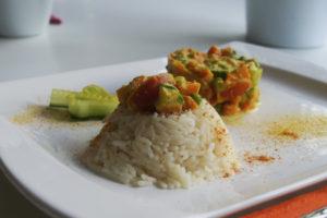 Mandelmilch-curry