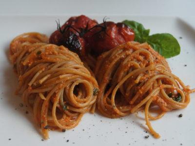 Pasta-mit-Cashewsauce