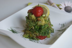 salat-mit-Avocado-dressing